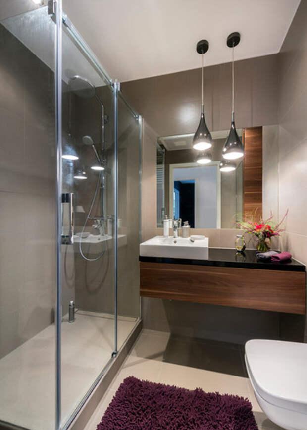 Современный Ванная комната by FLATEASY