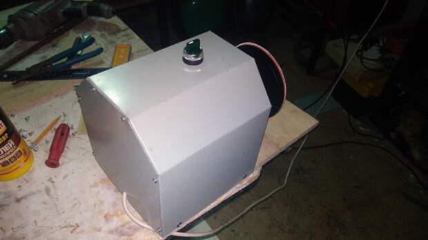 Самодельный торцевой шлифовальный станок от Рамиля Ахатова