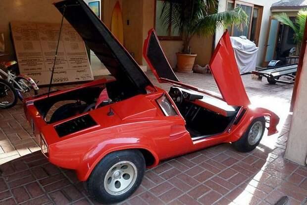 Lamborghini Countach авто, игрушка, копия, миниавтомобиль, моделизм, модель, самоделка, своими руками
