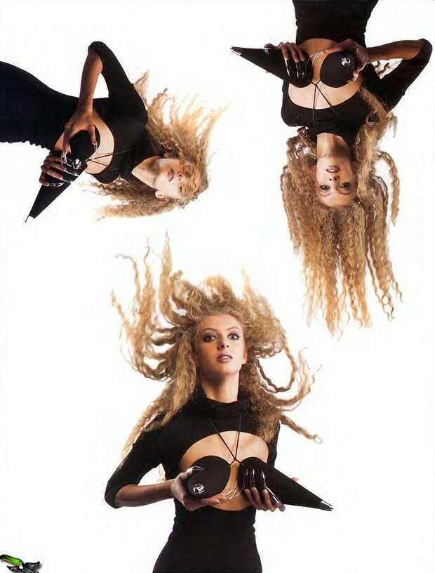 Группа Лицей в хулиганской фотосессии 1997 года.
