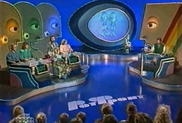 Популярные телепередачи 90-х СССР, юмор