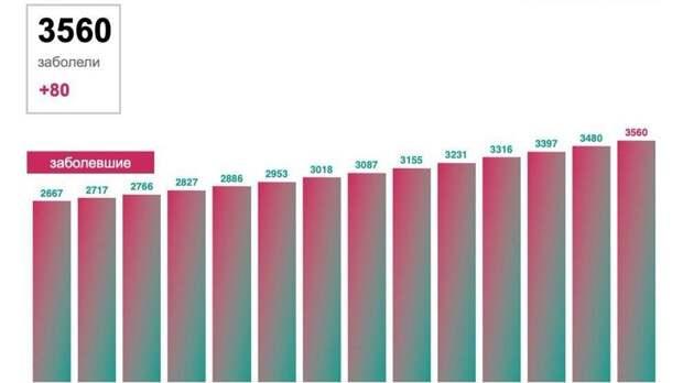 Врегионах «тюменской матрешки» выявлено 566 новых случаев COVID-19