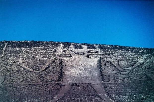 геоглиф, рисунок, земля, изображение, инопланетянин