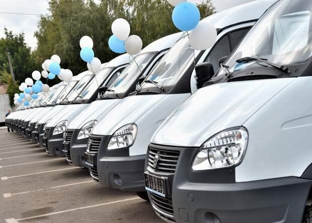 В Удмуртию прибыли 44 новых санитарных автомобиля