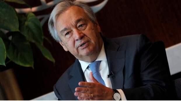 Генсек ООН отказался возобновлять санкции к Ирану по запросу США