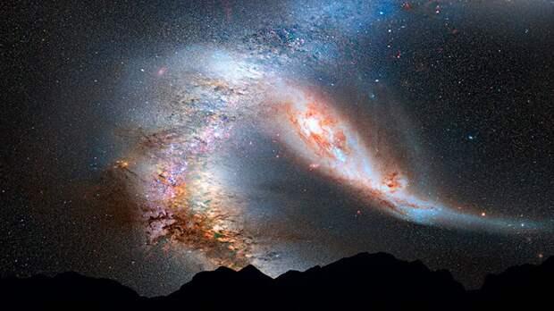 Конец света приближается! Что известно о галактике Андромеда?