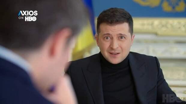Зеленский - президент с протянутой рукой. Даниил Безсонов