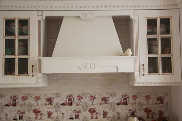Кухня: ванильная классика