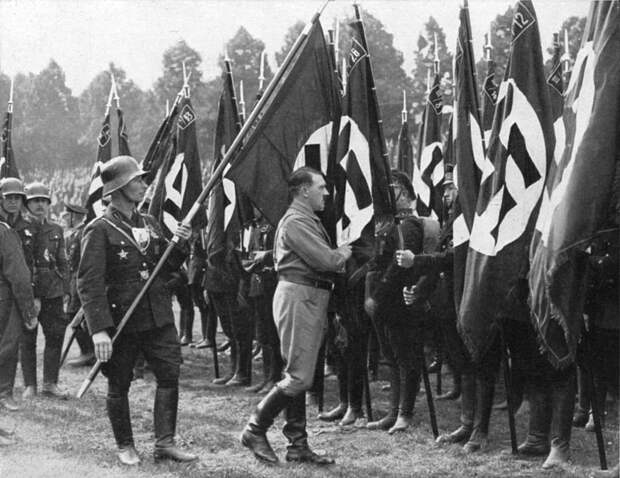 """Что случилось с """"Кровавым флагом""""? америка, война, вторая мировая, германия, загадки, история, легенды, тайны"""