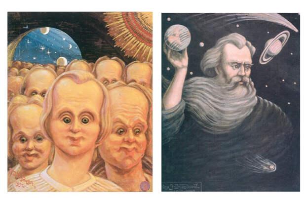 Беларуский Да Винчи. 15 потрясающих картин Язепа Дроздовича, по которым вы исследуете беларуский космос