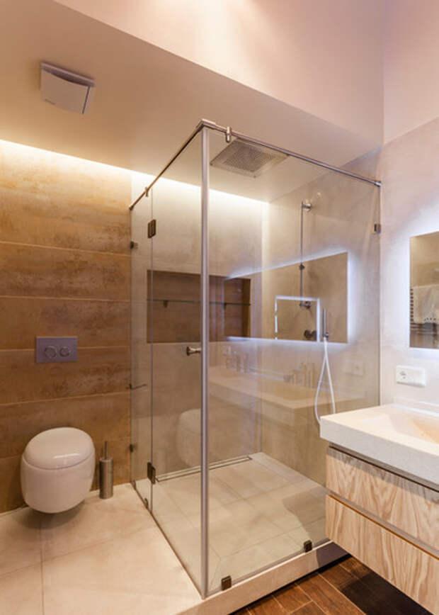 Лофт Ванная комната by U//ME architects