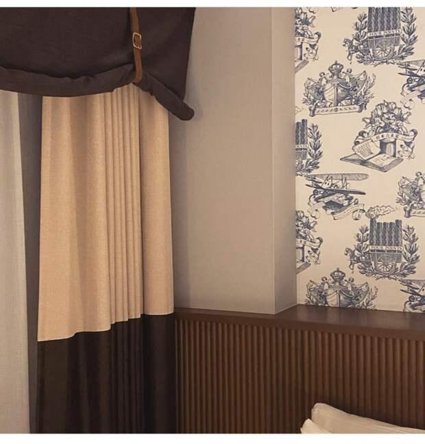 Шторы в японской гостинице