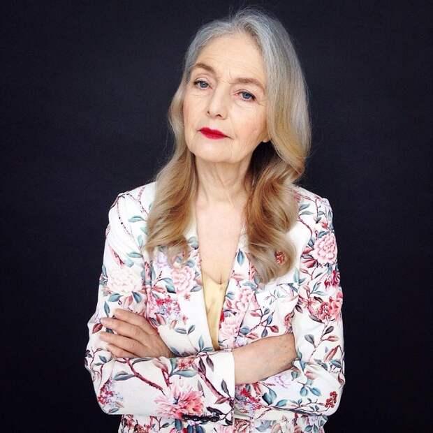 Ольга является самой востребованной моделью агентства «Олдушка» («Oldushka»).