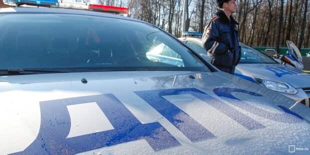 Таксисты устроили «дуэль» на Ленинградке