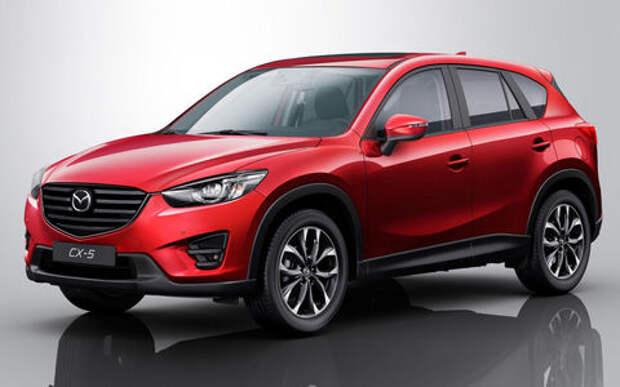 В России вновь нашли дефектные кроссоверы Mazda