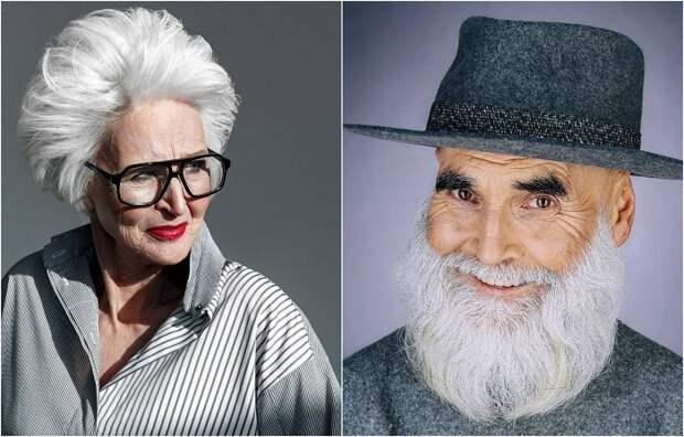 Российский фотограф доказал, что и после 60 люди могут оставаться стильными и привлекательными