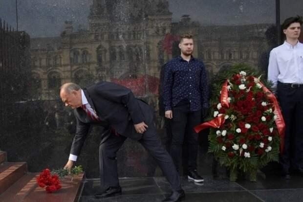 Зюганов обвинил в разжигании конфликта авторов концепции переделывания Мавзолея Ленина