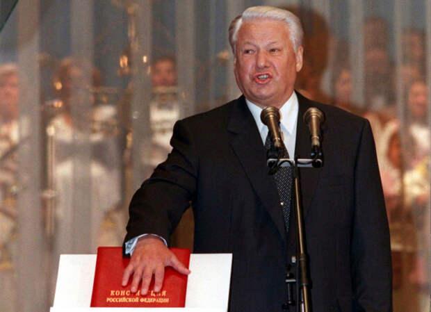 Нет ельцинской конституции! Ю.Ю. Болдырев, 1993 год