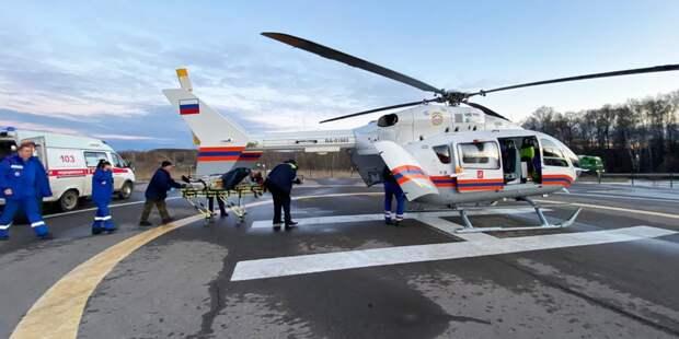 В апреле сотрудники МАЦ спасли десять человек
