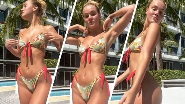 «Хороша, чертовка». Российская теннисистка Софья Жук похвасталась классной фигурой в купальнике