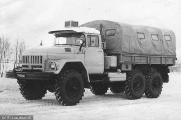 Капотный ЗИЛ-131: история и поиски идеала