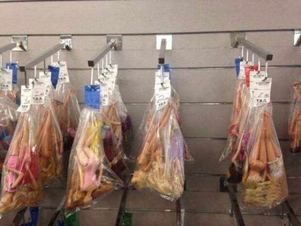 Приколы и маразмы в магазинах: странные товары (28 фото)