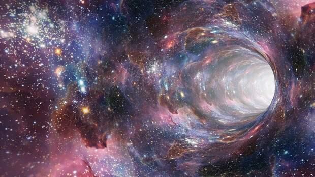 Физики придумали, как поместить космический корабль в кротовую нору