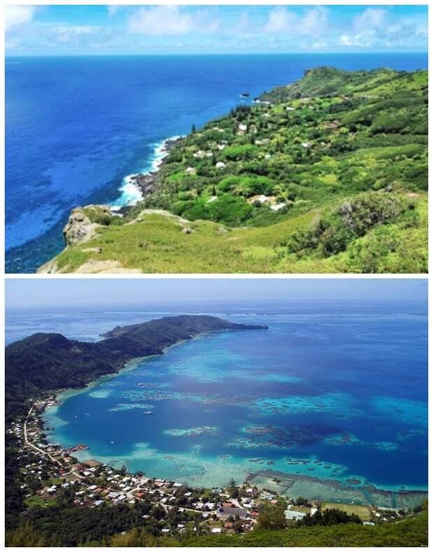 Любителям первозданной природы и уединения предлагают земельный участок даром, но с условиями (Остров Питкэрн, Великобритания).