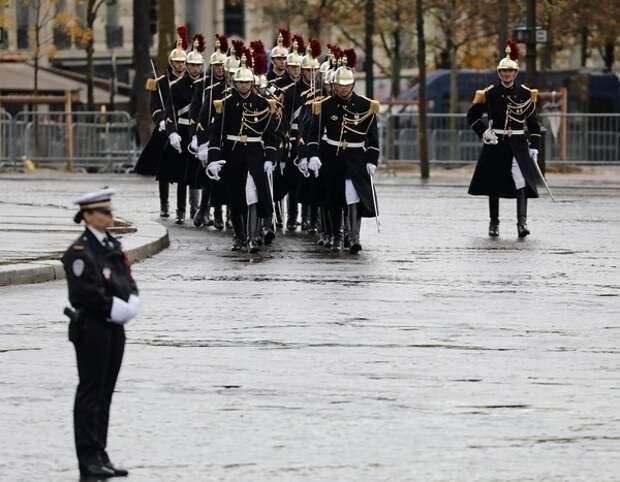 В Париже празднуют 100-летие окончания Первой мировой войны