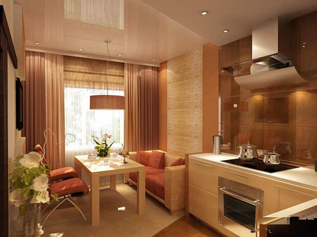 Уют и комфорт: особенности расположения дивана на кухне