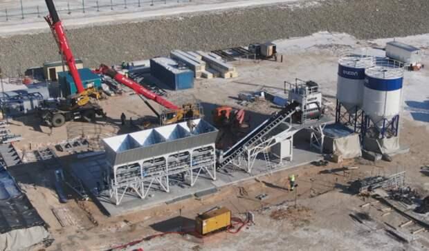 Первый бетон залит воснования фундаментов Амурского ГХК