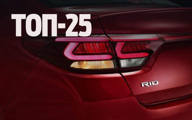 Kia Rio снова в лидерах: итоги продаж в августе