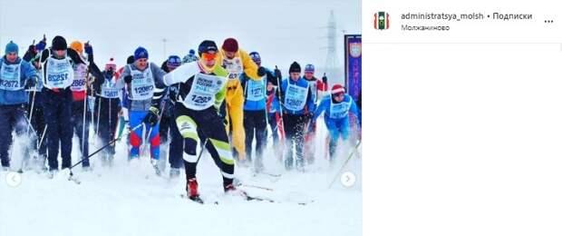 Спортсмены из Молжаниновского завоевали награды на всероссийских лыжных гонках