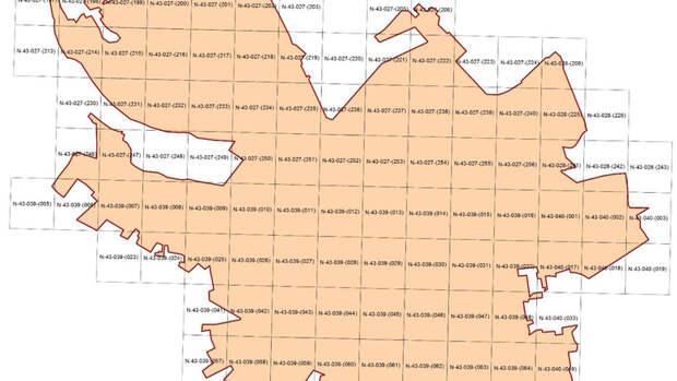 Роскартография подготовила цифровой план Омска