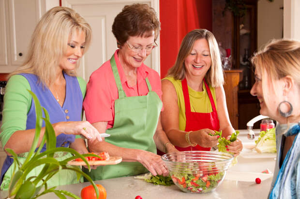 Правила здорового питания для женщин в зависимости от их возрастной группы