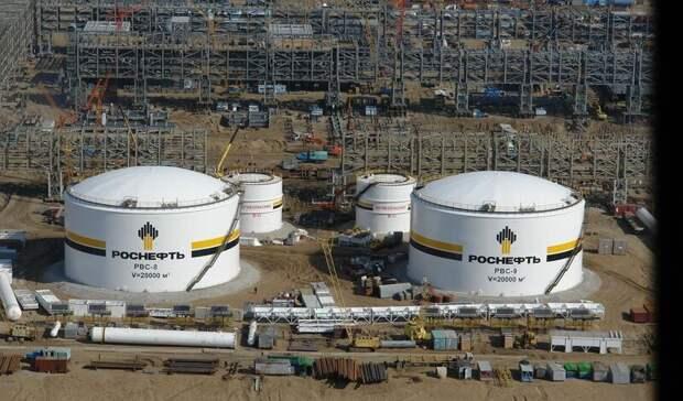 «Роснефть» ведет переговоры смировыми трейдерами обучастии впроекте «Восток Ойл»