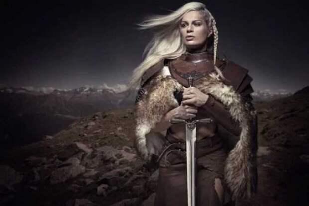 О женщинах-викингах, которые были воинами даже снимают фильмы.