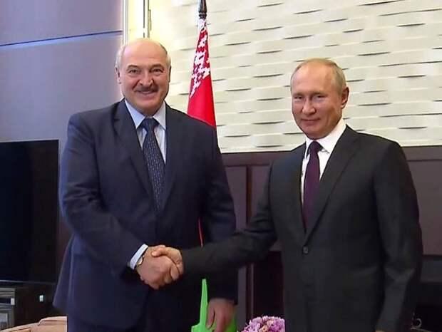 Лукашенко и Путин могут обсудить новый кредит Белоруссии
