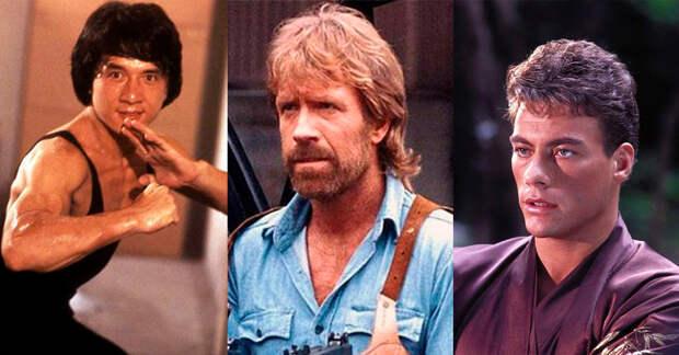 10 героев боевиков из 80-ых: как сложились судьбы кумиров