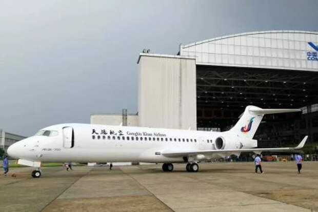 COMAC ARJ21-700 авиакомпании Genghis Khan Airlines
