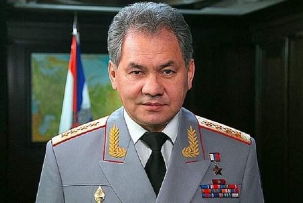 Министр обороны России Сергей Шойгу поздравил моряков с Днем ВМФ