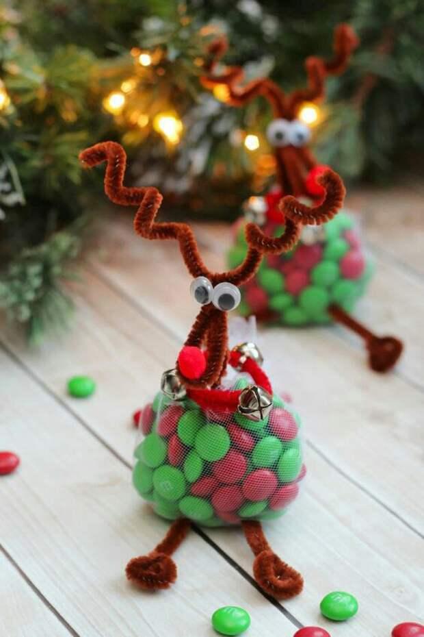 Новогодние сладости в подарок (идеи упаковки)
