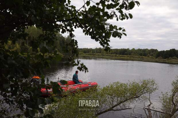 Пенсионер утонул в реке Теплая в Балахне