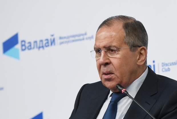 Приветствие министра иностранных дел России Сергея Лаврова участникам Ближневосточной конференции клуба «Валдай»