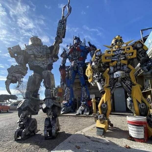 Огромные роботы трансформеры