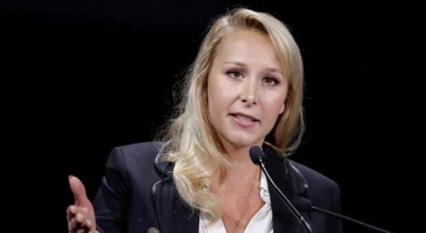 Племянница Марин Ле Пен отказалась извиняться за белый цвет кожи