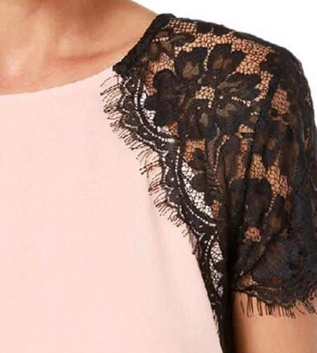 Переделки блузки