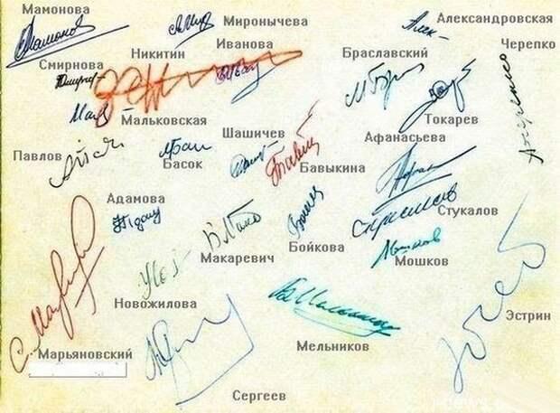 Как определить характер по подписи