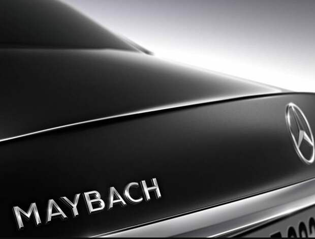 Немцы приоткрыли внешность роскошного Майбаха S600