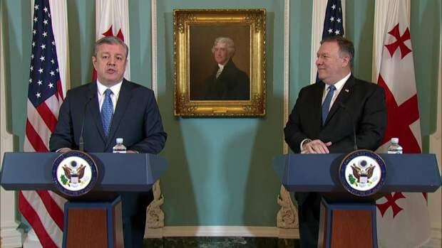 В Грузии ожидают визита госсекретаря США